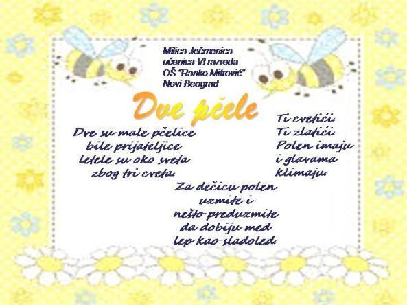 dve pčele
