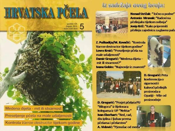 hrvatska pčela broj 5 svibanj 2015 naslovnica kratak sadržaj
