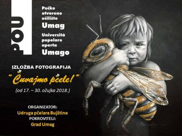 cuvajmo pčele najava izložbe u umagu