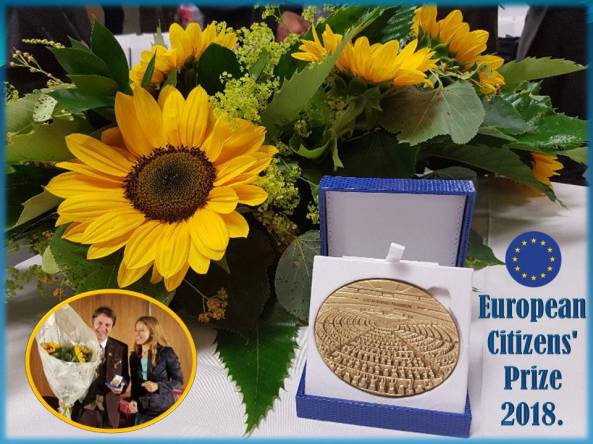 Nagrada European Citizens Prize 2018.